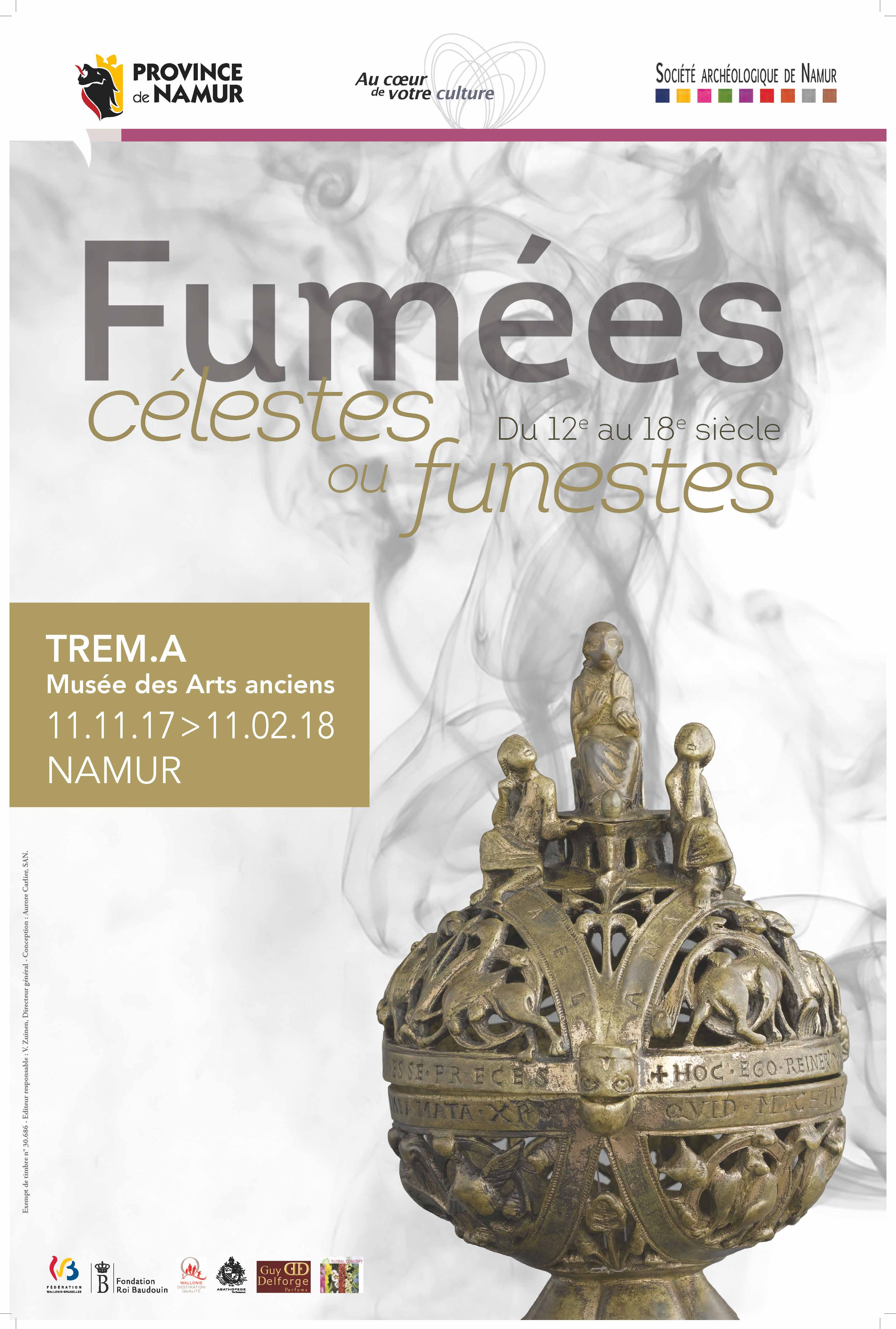 Affiche Expo Fumees light